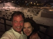 Dinner at Huaca Pucllana amidst the ruins